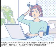 「在宅ワーク中のパフォーマンス」に関する調査